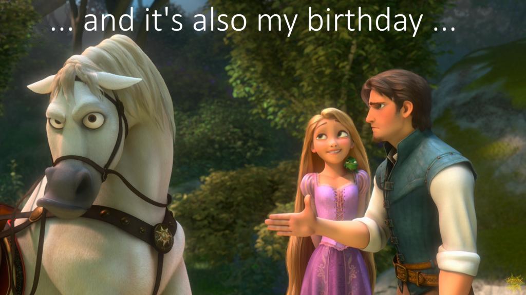 Also my Birthday